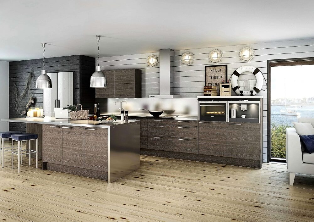 Modern Kitchen tile | RamGo Remodeling | Home remodeling in Frisco, TX 75033 and surrounding areas
