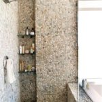 non traditional stone tile for bathroom and kitchen remodel