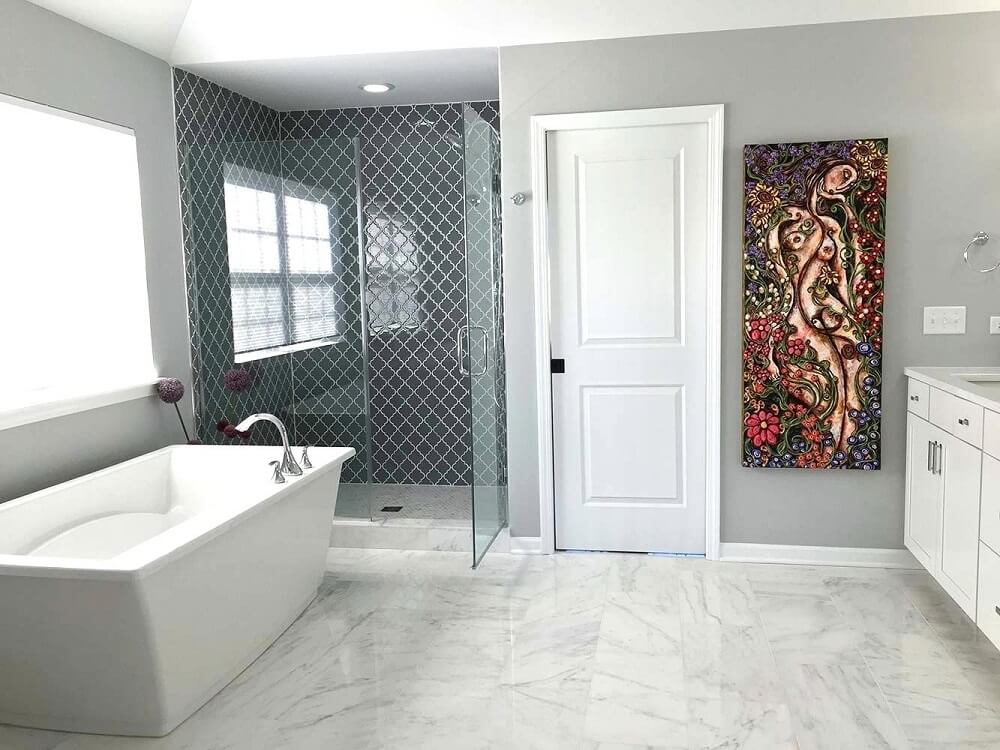 Modern bathroom remodeling and design | RamGo Remodeling is your best Frisco, TX remodeling contractor | Bathroom remodeling in Frisco, TX 75034 and surrounding cities