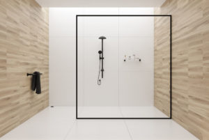 Frame less shower bathroom remodeling and design | RamGo Remodeling is your best Frisco, TX remodeling contractor | Bathroom remodeling in Frisco, TX 75034 and surrounding cities