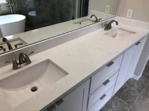 quartz bathroom vanity frisco tx